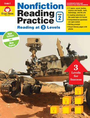 Picture of Nonfiction Reading Practice, Grade 2 - Teacher Reproducibles, E-book