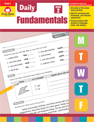 Picture of Daily Fundamentals, Grade 2 - Teacher's Edition, Print