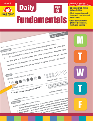 Picture of Daily Fundamentals, Grade 6 - Teacher's Edition, Print