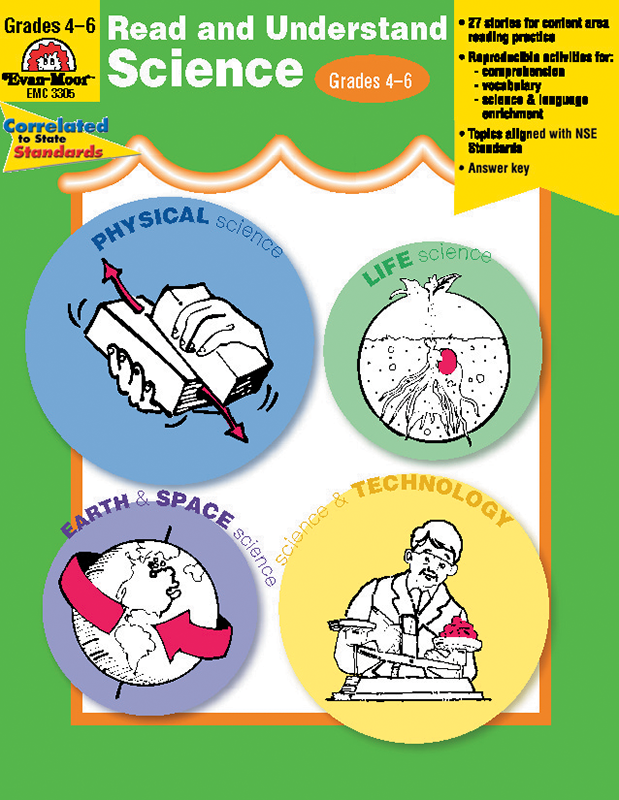 Picture of Read and Understand Science, Grades 4-6 - Teacher Reproducibles, E-book