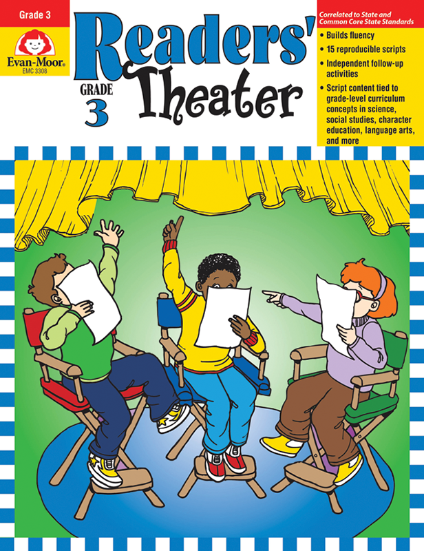 Picture of Readers' Theater, Grade 3 - Teacher Reproducibles, E-book