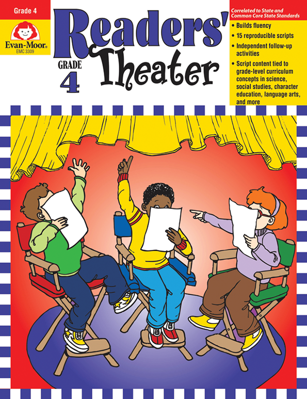 Picture of Readers' Theater, Grade 4 - Teacher Reproducibles, E-book