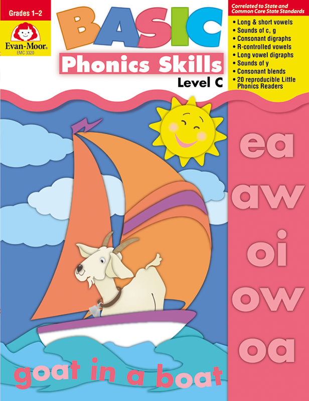 Picture of Basic Phonics Skills, Grades 1-2 (Level C)- Teacher Reproducibles, E-book