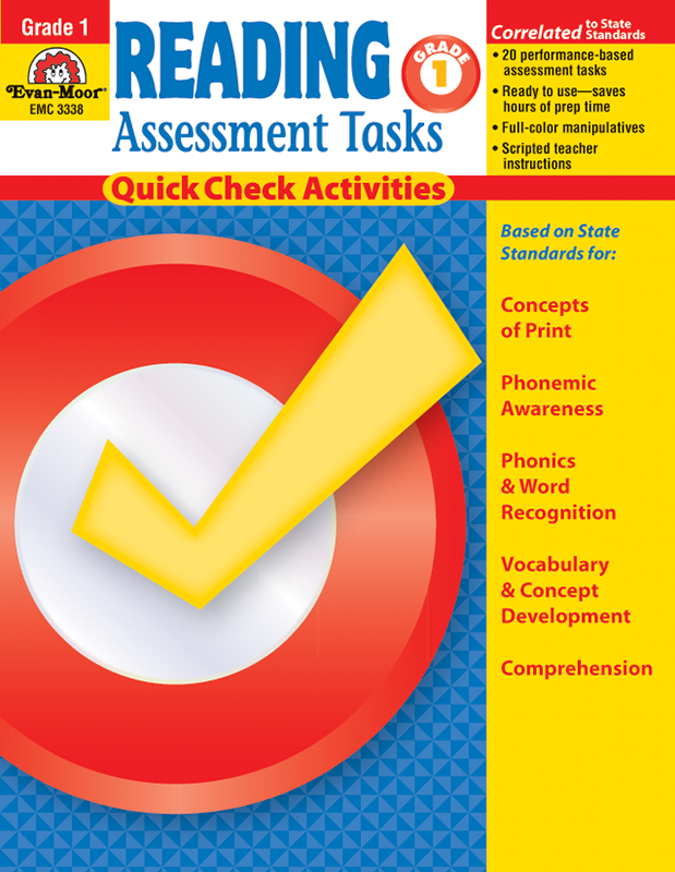 Picture of Reading Assessment Tasks, Grade 1 - Teacher Reproducibles, E-book