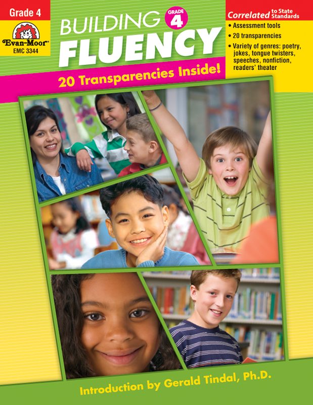Picture of Building Fluency, Grade 4 - Teacher Reproducibles, E-book
