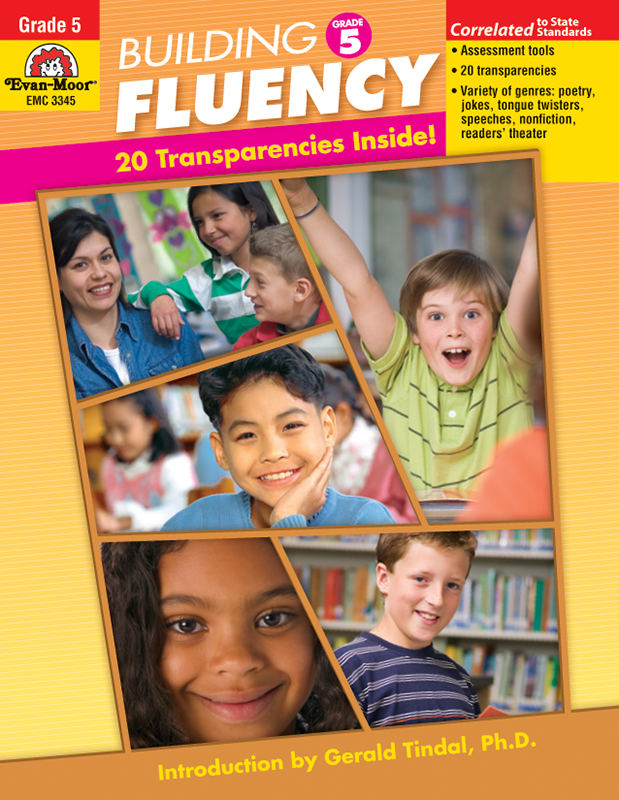 Picture of Building Fluency, Grade 5 - Teacher Reproducibles, E-book