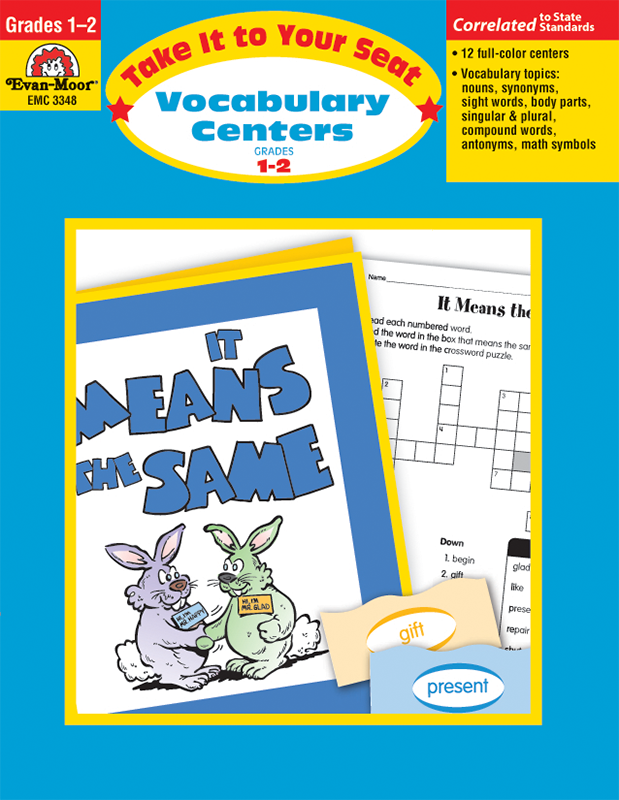Picture of Take It To Your Seat: Vocabulary Centers, Grades 1-2- Teacher Resource, E-book
