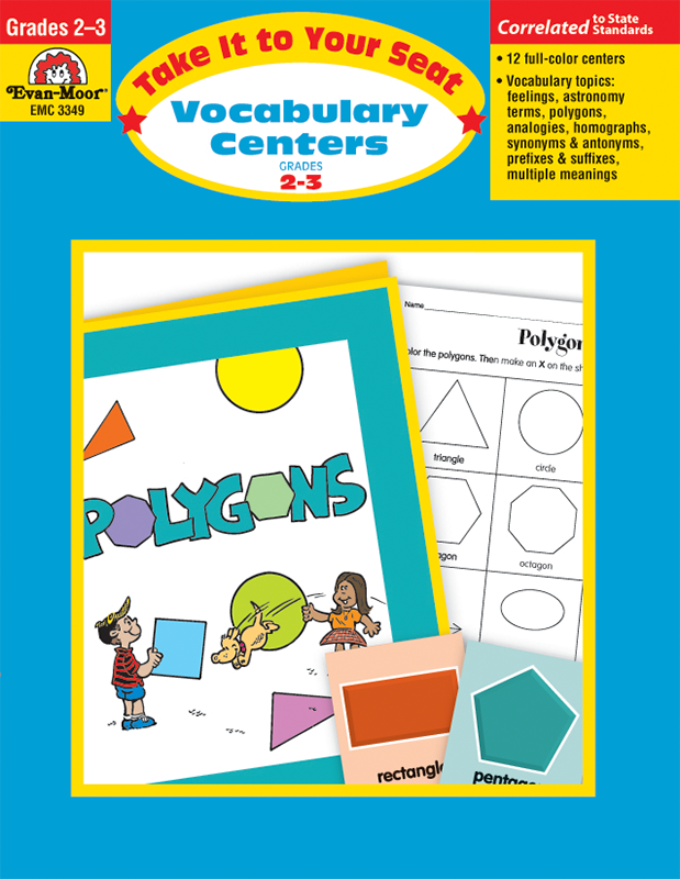 Picture of Take It To Your Seat: Vocabulary Centers, Grades 2-3 - E-book