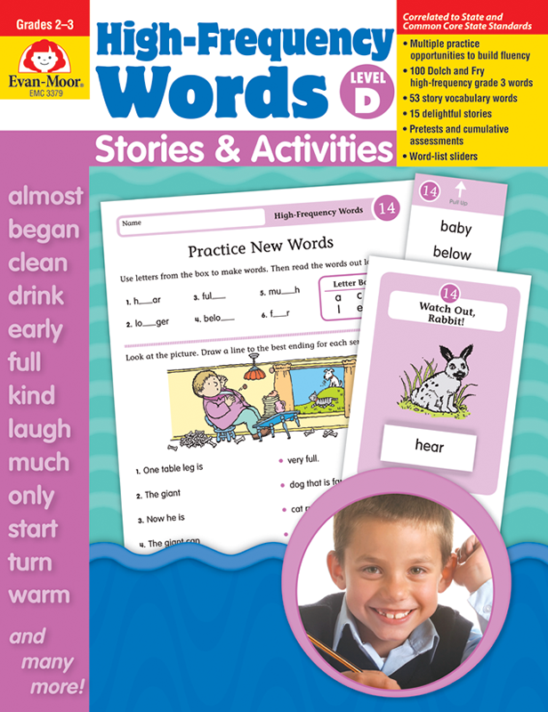 Picture of High-Frequency Words: Stories & Activities, Grades 2-3 (Level D)- Teacher Resource, E-book