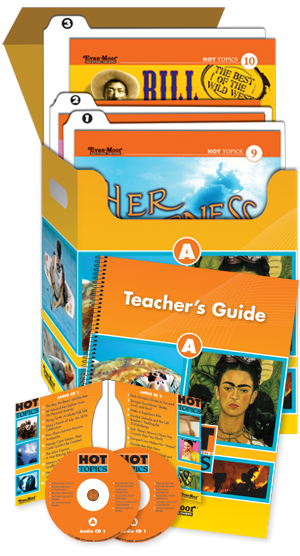 Picture of Hot Topics: High Interest Reading, Set A (Grades 4-8+)-Core Classroom Kit