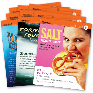 Picture of Hot Topics: High Interest Reading, Set A (Grades 4-8+)-English Selections Add-On Pack (1 set of 20)