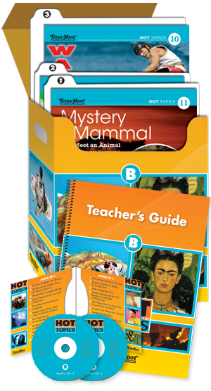 Picture of Hot Topics: High Interest Reading, Set B (Grades 4-8+)-Core Classroom Kit