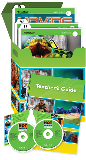 Picture of Hot Topics: High Interest Reading, Science (Grades 4-8+)-Core Classroom Kit