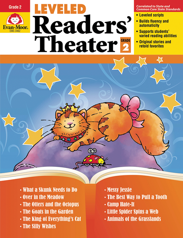 Picture of Leveled Readers' Theater, Grade 2 - Teacher Reproducibles, E-book