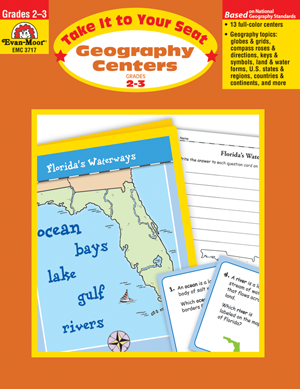 Picture of Take It to Your Seat: Geography Centers, Grades 2-3 - Teacher Resource, Print