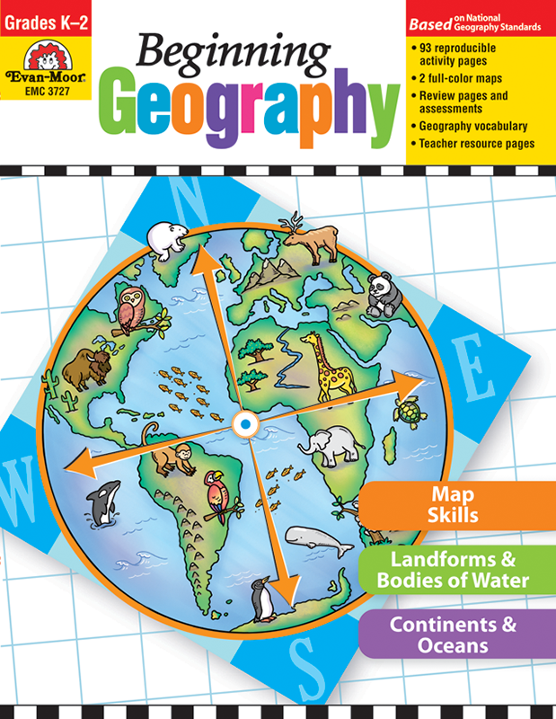 Picture of Beginning Geography, Grades K-2 - Teacher Reproducibles, E-book