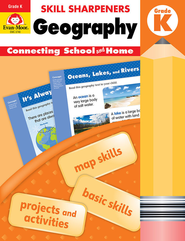 Picture of Skill Sharpeners: Geography, Grade K - Activity Book