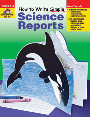 Picture of How to Write Simple Science Reports, Grades 1-4 - Teacher Resource, Print