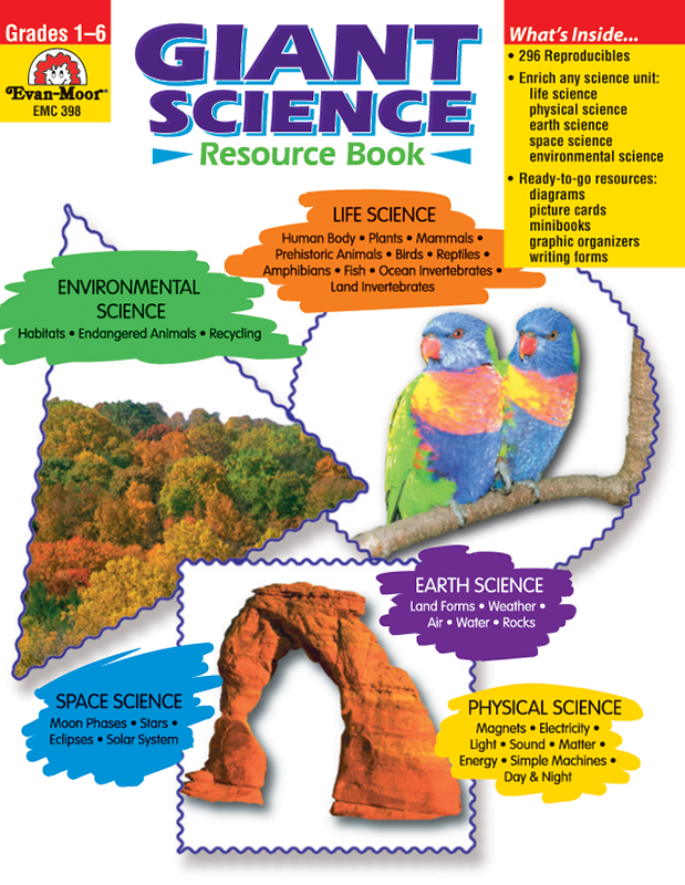 Picture of Giant Science Resource Book, Grades 1-6 - Teacher Resource, E-book