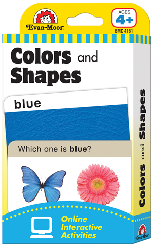 Picture of Learning Line: Colors and Shapes, Grade PreK+ (Age 4+) - Flashcards