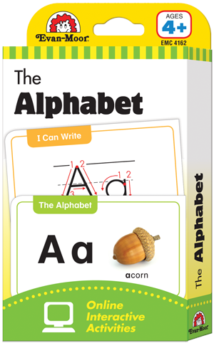 Picture of Learning Line: The Alphabet, Grades PreK+ (Ages 4+) - Flashcards