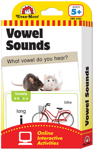 Picture of Learning Line: Vowel Sounds, Grades K+ (Ages 5+) - Flashcards