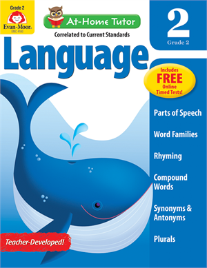 Picture of At-Home Tutor: Reading & Language, Grade 2 - Activity Book
