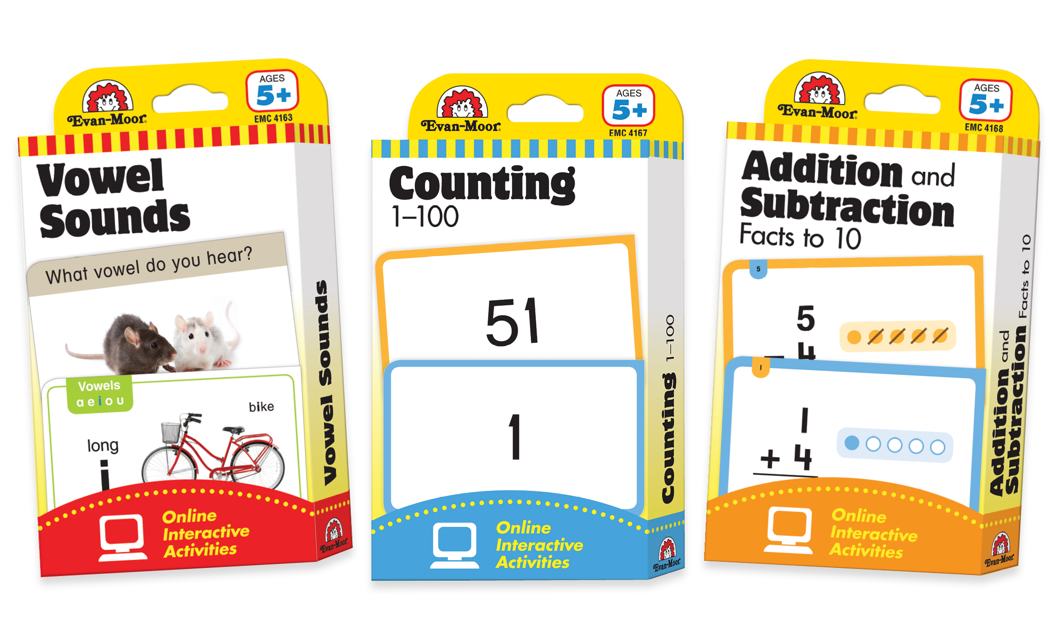 Picture of Flashcard Set Ages 5+