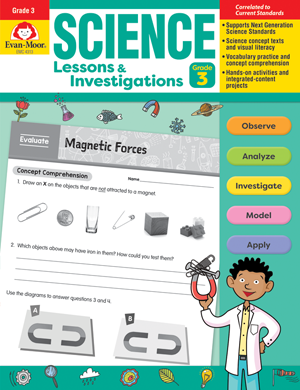 Picture of Science Lessons and Investigations, Grade 3 - Teacher's Edition, E-book