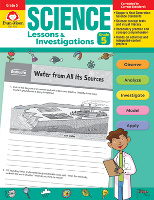 Picture of Science Lessons and Investigations, Grade 5 - Teacher's Edition, E-book