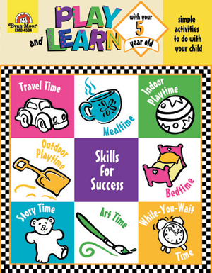 Picture of Play and Learn with Your Five Year Old ~- Teacher Reproducibles, E-book