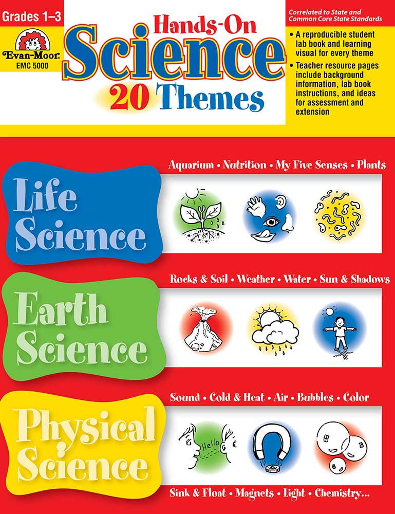 Picture of Hands-On Science - 20 Themes, Grades 1-3 - Teacher Reproducibles, Print