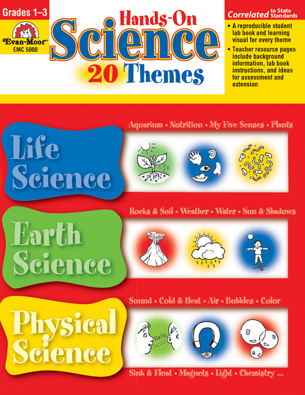 Picture of Hands-On Science - 20 Themes, Grades 1-3 - Teacher Reproducibles, E-book
