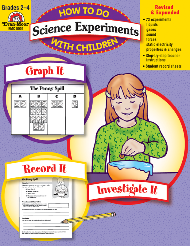Picture of How to Do Science Experiments with Children, Grades 2-4 - Teacher Reproducibles, E-book
