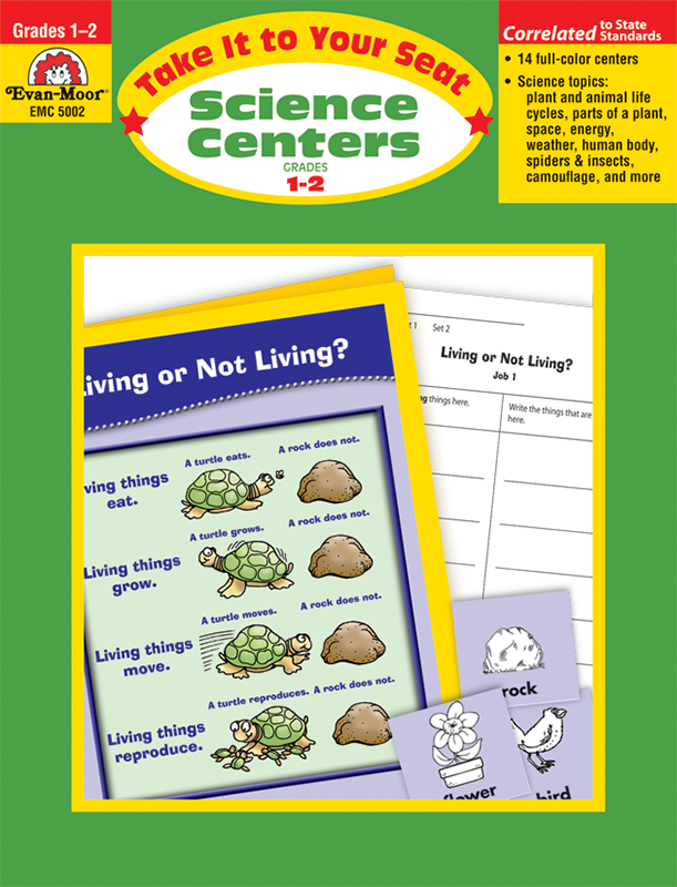 Picture of Take It To Your Seat: Science Centers, Grades 1-2 - Teacher Reproducibles, E-book