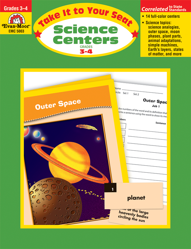 Picture of Take It To Your Seat: Science Centers, Grades 3-4 - Teacher Reproducibles, E-book