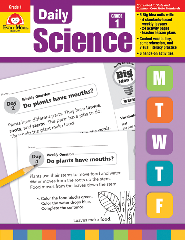 Picture of Daily Science, Grade 1 - Teacher's Edition, E-book