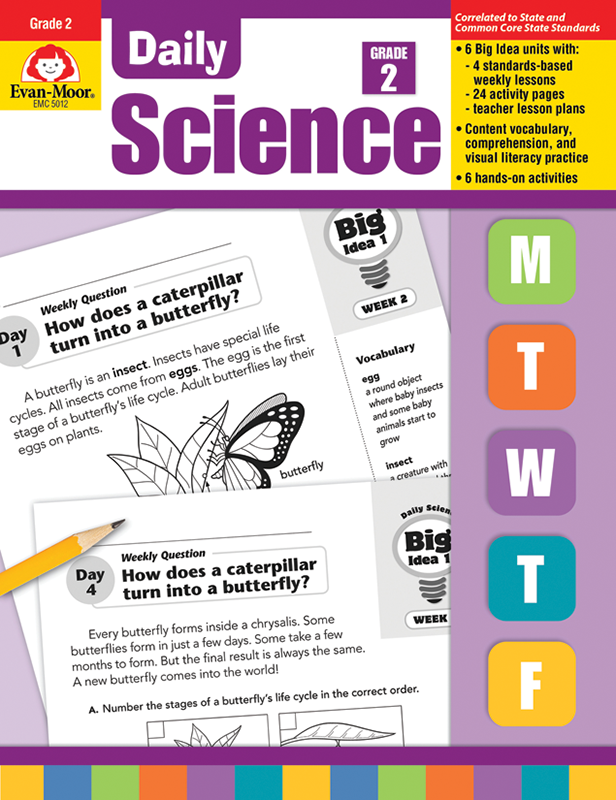 Picture of Daily Science, Grade 2 - Teacher's Edition, E-book