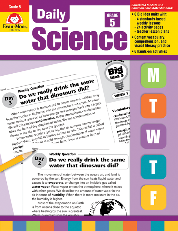 Picture of Daily Science, Grade 5 - Teacher's Edition, E-book