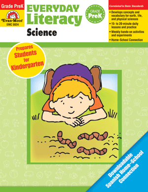 Picture of Everyday Literacy: Science, Grade PreK  - Teacher Reproducibles, Print