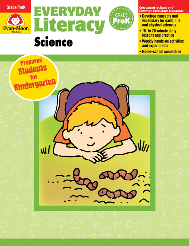 Picture of Everyday Literacy: Science, Grade PreK - Teacher Reproducibles, E-book