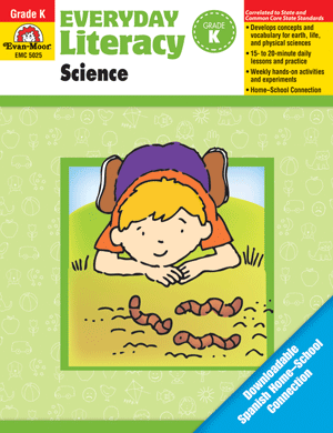 Picture of Everyday Literacy: Science, Grade K  - Teacher Reproducibles, Print
