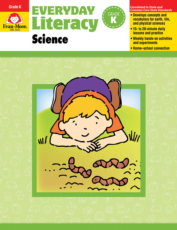 Picture of Everyday Literacy: Science, Grade K - Teacher Reproducibles, E-book