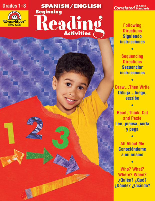 Picture of Spanish/English Activities: Beginning Reading Activities, Grades 1-3 - Teacher Reproducibles, E-book