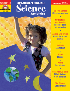 Picture of Spanish/English Activities: Science Activities, Grades 1-3 - Teacher Reproducibles, Print