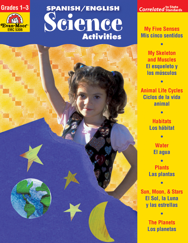 Picture of Spanish/English Activities: Science Activities, Grades 1-3 - Teacher Reproducibles, E-book