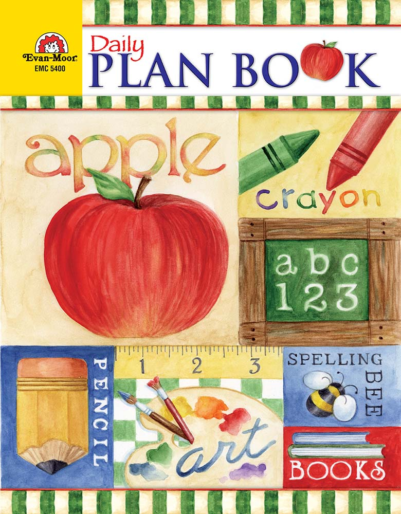 Picture of Daily Plan Book: School Days, Grades K-6 - Teacher Resource, E-book