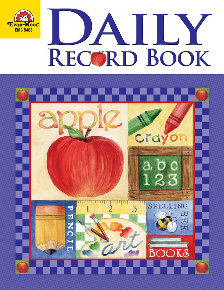 Picture of Daily Record Book: School Days, Grades K-6 - Teacher Resource, Print