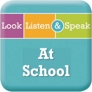 Picture of Look, Listen, & Speak: At School - Interactive Lessons Trial