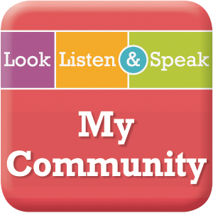 Picture of Look, Listen, & Speak: My Community - Interactive Lessons Trial